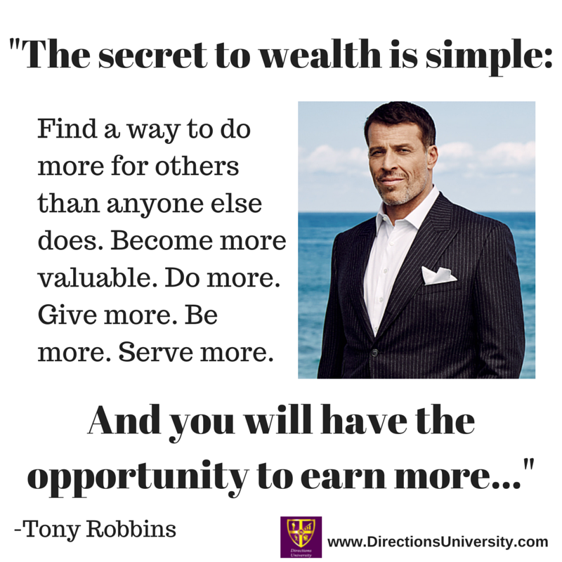 The secret to wealth is simple-