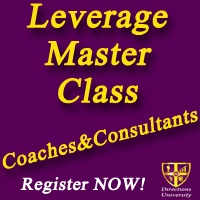 Join the Leverage Master Class for Coaches & Consultants Today!