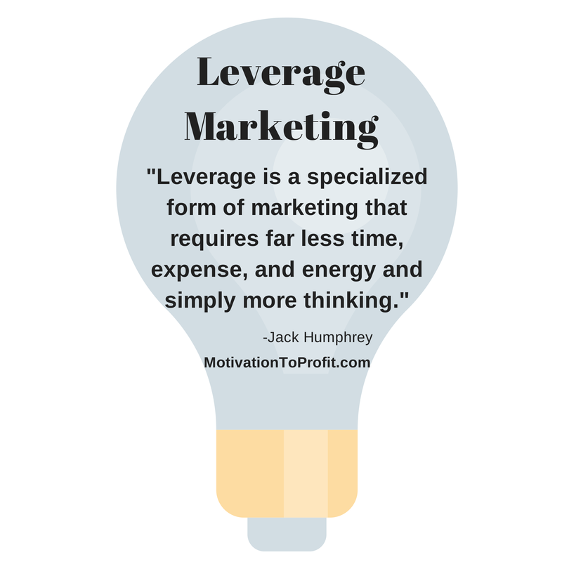 leverage marketing