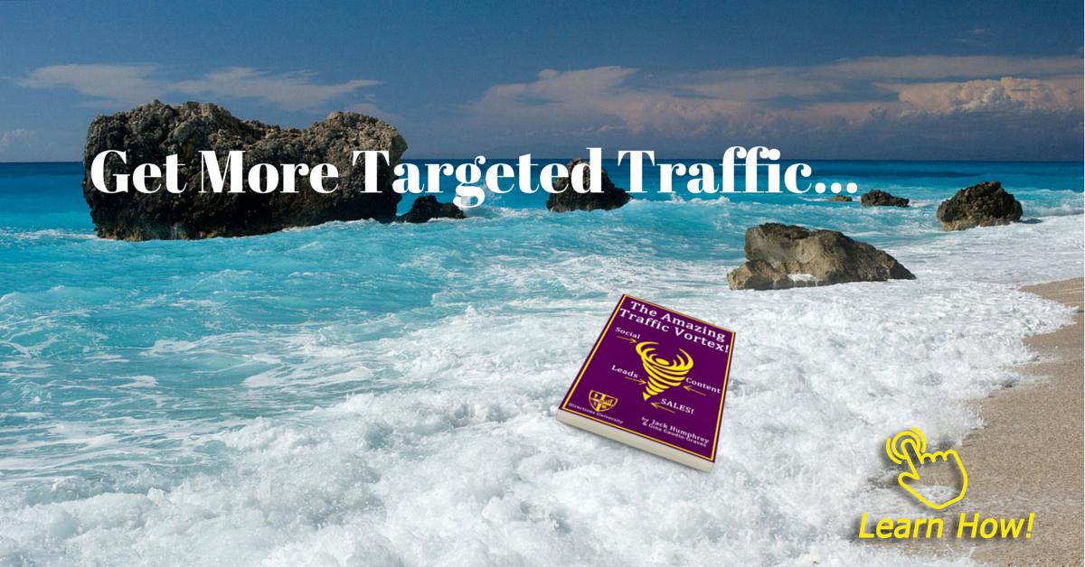 get more targeted website traffic