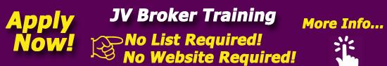 jv broker training