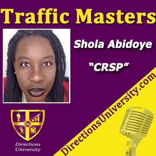 shola abidoye traffic masters podcast